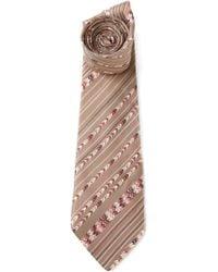 Lanvin Vintage Patterned Tie - Lyst