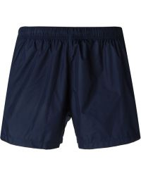 Gucci Classic Swim Shorts blue - Lyst