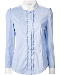 RED Valentino Striped Shirt - Lyst