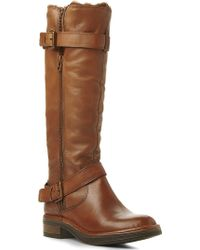 Dune Tooding Knee-High Leather Boots - For Women - Lyst