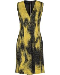 Cedric Charlier Short Dress - Lyst