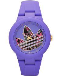 adidas Originals - Aberdeen Playfully Original Silicone Watch - Lyst