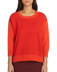 DKNY Colorblock Sweater - Lyst
