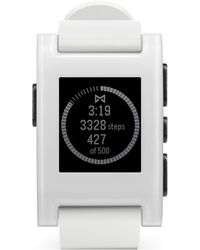 Pebble Smart Watch - White