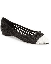 454afc0be6b Lyst - Women s Delman Ballet flats and pumps On Sale