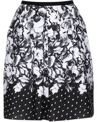 Erdem Levinia Cotton Skirt - Lyst