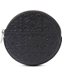 Loewe Round Calf-leather Coin Purse - Lyst