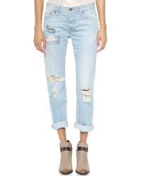 Nsf Clothing Beck Jeans - Clover - Lyst