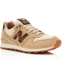 New Balance - 696 Tomboy Lace Up Trainers - Lyst
