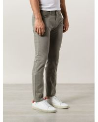 PAIGE - 'normandie' Twill Jeans - Lyst