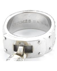 Hermes Pre-owned 18kw Ring - Lyst