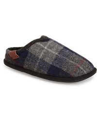 Bedroom Athletics - 'william' Harris Tweed Scuff Slipper - Lyst