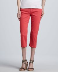 Not Your Daughter's Jeans | Ariel Bling-Pocket Cropped Jeans | Lyst