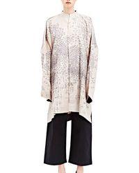 Swati Kalsi - Women's Long Embroidered Kimono Jacket In Black - Lyst