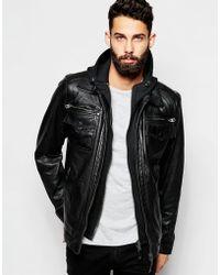 Jackets schott men leather for Schott Bros