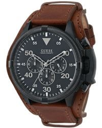 Guess Brown Watch - Lyst
