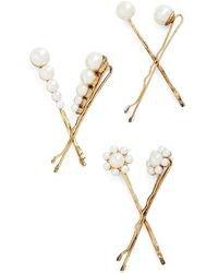 Muchtoomuch You Can Do It Hair Pin Set - Lyst