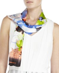 Jones New York - Floral Print Scarf - Lyst