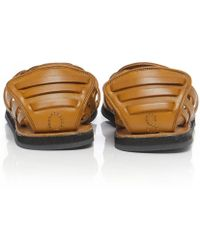 Oliver Sweeney Chatlet Leather Sandals - Brown
