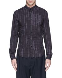 McQ by Alexander McQueen Paint Stroke Check Harness Shirt - Lyst