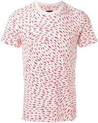 Christopher Raeburn - Shark Print T-shirt - Lyst