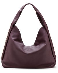 Vince Camuto Leather Chain Hobo Bag - Lyst