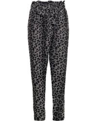 Vivienne Westwood Anglomania New Kung Fu Leopard-print Trousers - Lyst