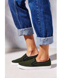 Jeffrey Campbell Ray Wool Slip-On Sneaker - Lyst