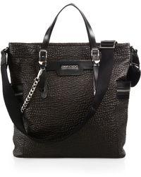 Jimmy Choo Dukes Leather Tote Bag - Lyst