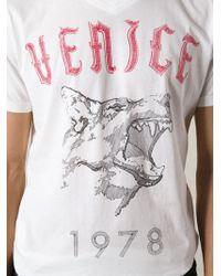 Diesel Venice Print Tshirt - Lyst
