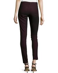 Nicole Miller Artelier | Skinny Leather Pants | Lyst