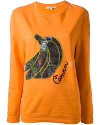 Carven | Banana Sweatshirt | Lyst
