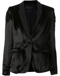 Rag & Bone Black March Blazer - Lyst