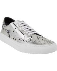 Rocco P - Metallic Wingtip Brogue Sneakers - Lyst