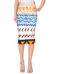Vivienne Westwood Anglomania | Knee Length Skirt | Lyst