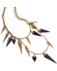 Tory Burch - Arrowhead Double-strand Necklace - Lyst