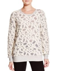 Benjamin Jay   Veronica Embroidered Floral Sweater   Lyst