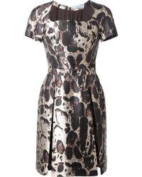 Blumarine Leopard Print Dress - Lyst