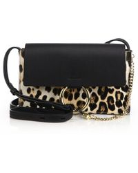 Christian louboutin Sweet Charity Baby Studded Leopard-print ...