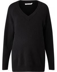 T By Alexander Wang   Cashwool V-neck Sweater   Lyst