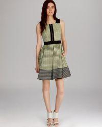 Karen Millen Dress Mixed Neon Tweed Collection - Lyst