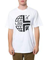 LRG The Whole World Tee - Lyst