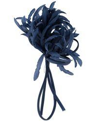 P.A.R.O.S.H. Flower Brooch - Blue