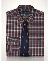Polo Ralph Lauren Slim-Fit Tartan Shirt - Lyst