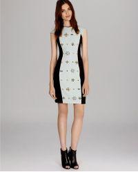 Karen Millen Dress - Brooch Beaded Shift - Lyst