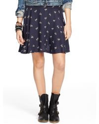 Denim & Supply Ralph Lauren Floral A-Line Miniskirt - Lyst