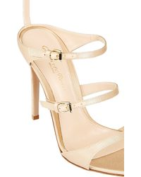 Gianvito Rossi Triple-Strap Sandals - Lyst