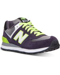 New Balance Women'S 574 Casual Sneakers From Finish Line - Lyst