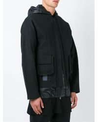 Berthold - Hooded Double Layer Jacket - Lyst