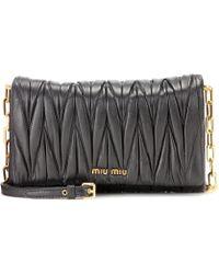 b985c3aeb432 miu miu matelasse metallic leather shoulder bag